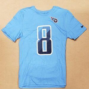 Nike Tennessee Titans T-Shirt Blue Boys Medium